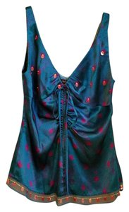 Laundry by Shelli Segal Print Top teal