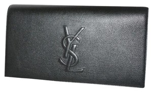 Saint Laurent Ysl Yves St Black Clutch