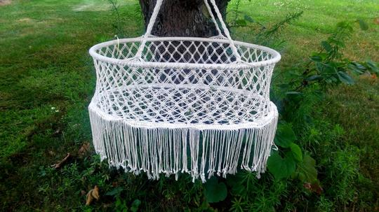 Other Crocheted Hammock, Attire Storage, Baby Clothing Bin and more NEW Image 3