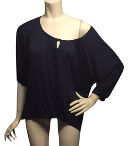 Ella Moss Top Navy blue