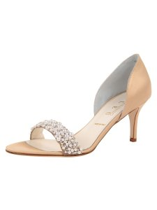 Something Bleu Bridal Cappy Wedding Shoes