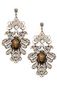 Nordstrom Filigree Drop Earrings