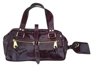 Mulberry Satchel in Burgundy
