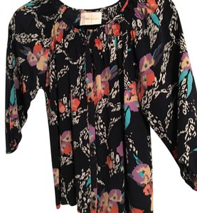 Yumi Kim Top Navy/multi/floral