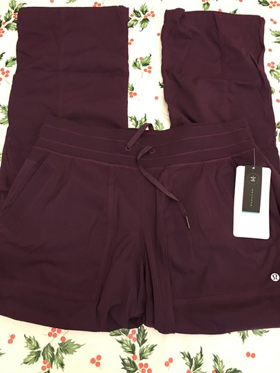 Lululemon Dance Studio Iii Unlined Regular Darkest Magenta Sz 10 Relaxed Pants best