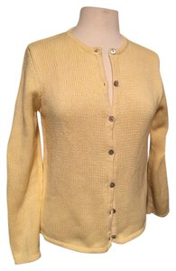 L.L.Bean Cotton Button Front Longsleeve Cardigan
