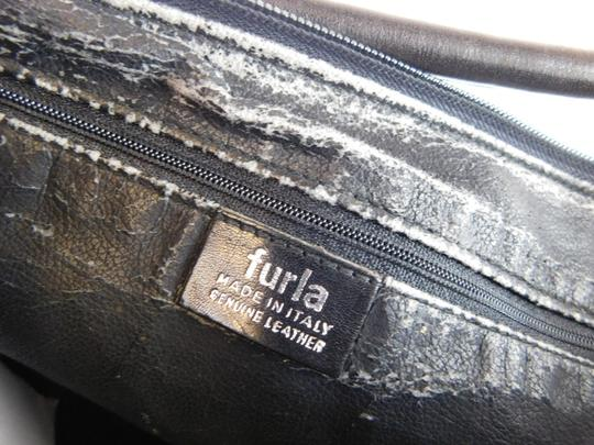 Furla Printed Leather Italian Shoulder Bag Image 6