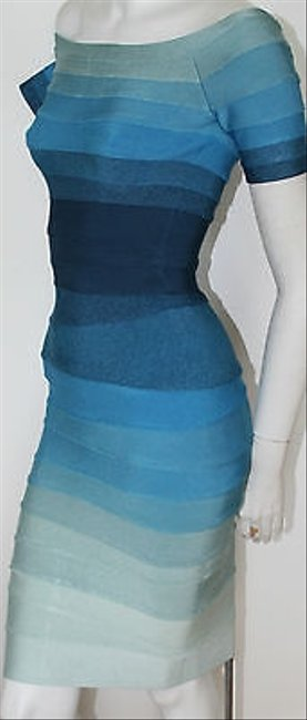 Hervé Leger Ombre Stretch Bandage Johanna Dress Image 1