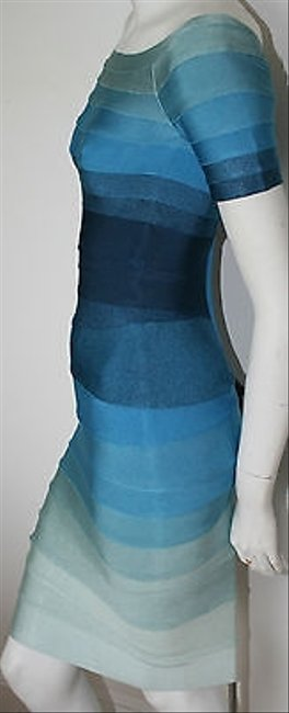 Hervé Leger Ombre Stretch Bandage Johanna Dress Image 2