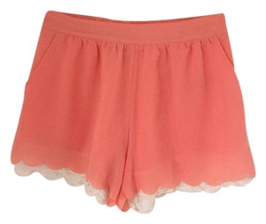 Only Mine Dress Shorts Coral