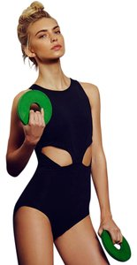 Free People Free People Monument Leotard M Black