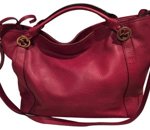 Gucci Satchel in Cherry Red