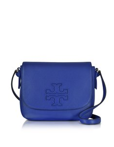 Tory Burch Leather Macaw Messenger Bag