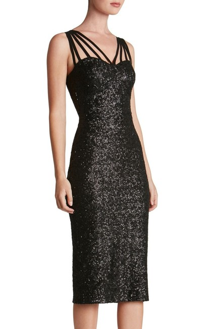 Macy's Sequin Holiday Party Dress Image 4