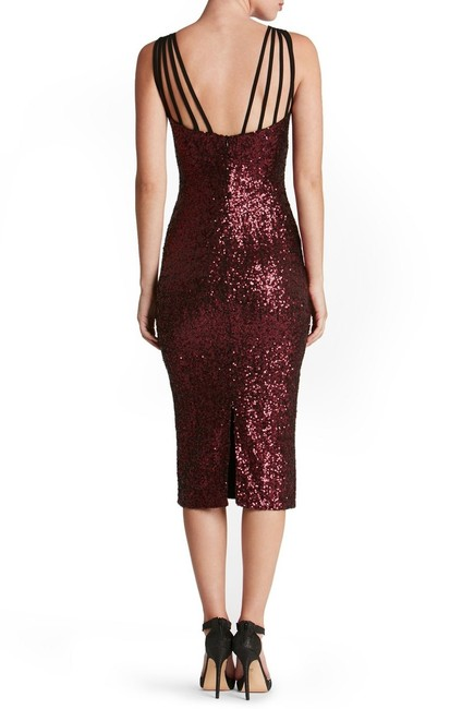 Macy's Sequin Holiday Party Dress Image 6
