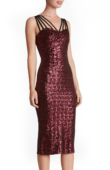 Macy's Sequin Holiday Party Dress Image 7