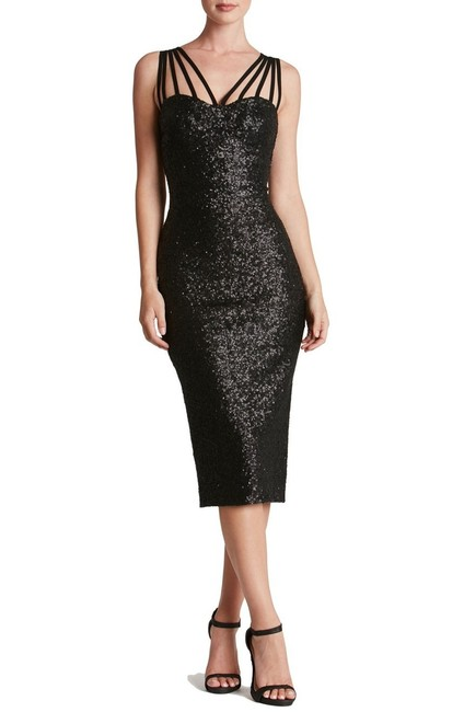 Macy's Sequin Holiday Party Dress Image 8