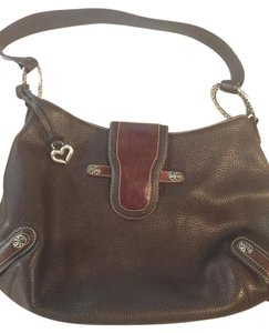 Brighton Pebble Leather Vintage Dust Cover Spotless Price Drop Hobo Bag