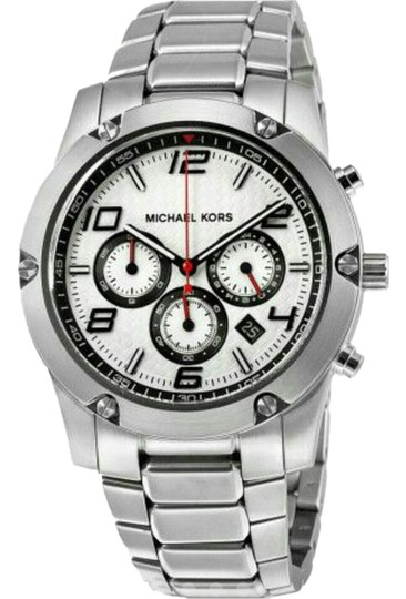 Preload https://img-static.tradesy.com/item/20234018/michael-kors-collection-silver-mk8472-caine-dial-chronograph-ss-men-s-watch-0-1-540-540.jpg