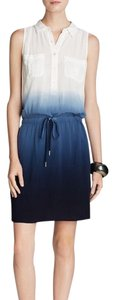 Vince Camuto short dress Blue / white on Tradesy