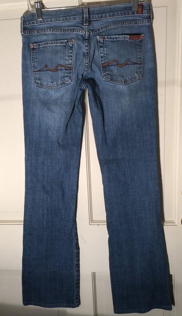 7 For All Mankind Boot Cut Jeans-Light Wash Image 1