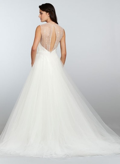 Tara Keely Ivory Mikado / Organza / Tulle Tk2302 Formal Wedding Dress Size 10 (M) Image 1