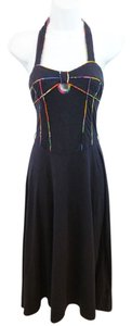 Maxi Dress by Marc Jacobs Navy Cotton
