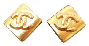 Chanel Vintage Chanel CC Kite Logo Clip On earrings