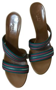 Gucci Green red green Sandals