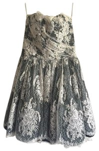 Emanuel Ungaro Ungaro Couture Lace Cocktail Lace Dress