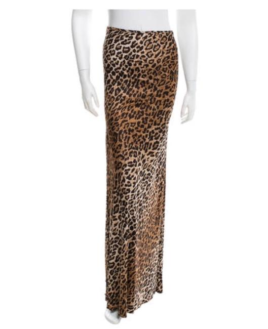 Preload https://img-static.tradesy.com/item/20234343/dolce-and-gabbana-tan-and-brown-leopard-maxi-skirt-size-0-xs-25-0-0-650-650.jpg