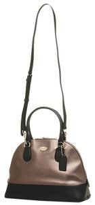 Coach Satchel Crossgrain Leather Shoulder Bag