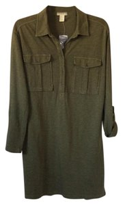 Forever 21 short dress Olive green on Tradesy