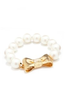 Kate Spade All Wrapped Up Pearls Bracelet