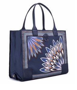 Tory Burch Tote in Navy Eden