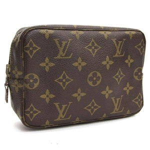 Louis Vuitton Authentic Louis Vuitton Monogram Trousse 18 Cosmetic Pouch