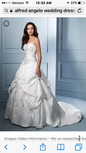Alfred Angelo Sapphire Wedding Dress