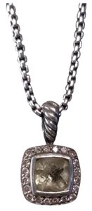 David Yurman David Yurman Petite Albion Necklace with Lemon Citrine and Diamonds
