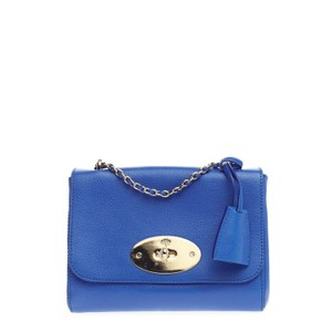 Mulberry Chain Flap Leather Shoulder Bag