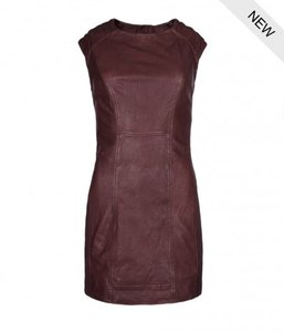 AllSaints short dress Burgundy on Tradesy