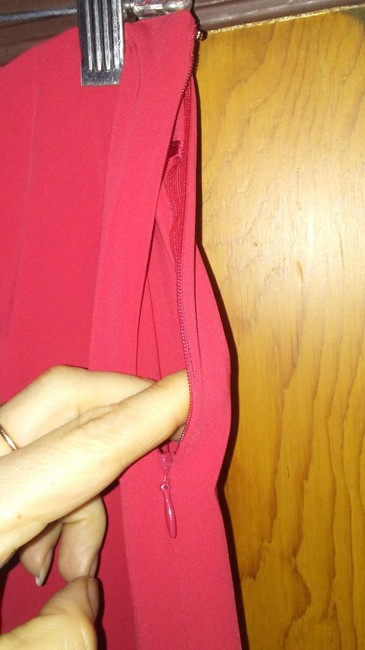 Les Copains Straight Pants Red Image 4
