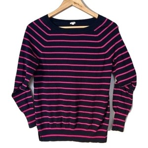 J.Crew Knit Womens Stripped Sweater
