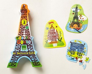 Anthropologie Multi-color Two Paris Puzzle Sets Other