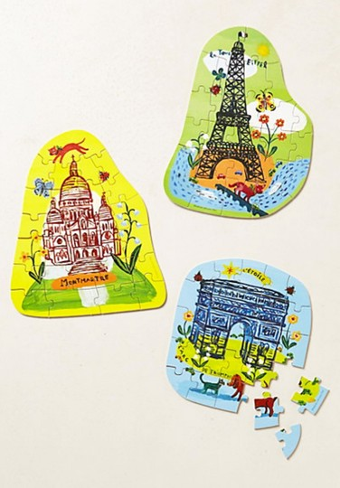 Anthropologie Multi-color Two Paris Puzzle Sets Other Image 2