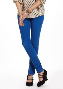 Anthropologie Cobalt Leggings