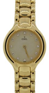 Ebel Ebel Beluga 24mm 18k Yellow Gold Original Diamond MOP 866960 Quartz Watch
