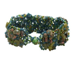 Ten Thousand Villages Stony Garden Bracelet