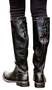 Free People Bed Stu Black Hand Wash Boots