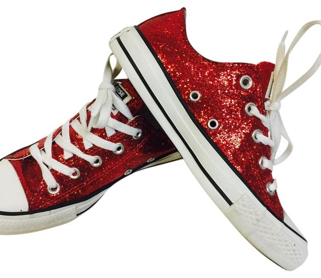 Item - Ruby Red Free Shipping Sneakers Size US 6.5 Regular (M, B)
