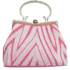 Other pink and white Clutch